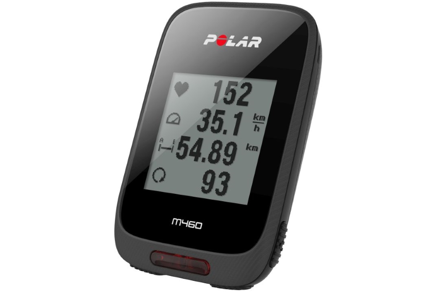 Polar M460 met Strava Live Segment en all black look is mooi en betaalbaar!