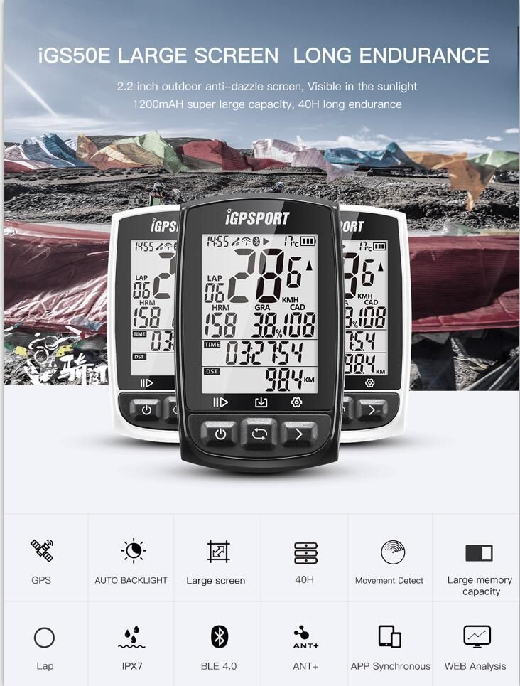 chinese fiets gps