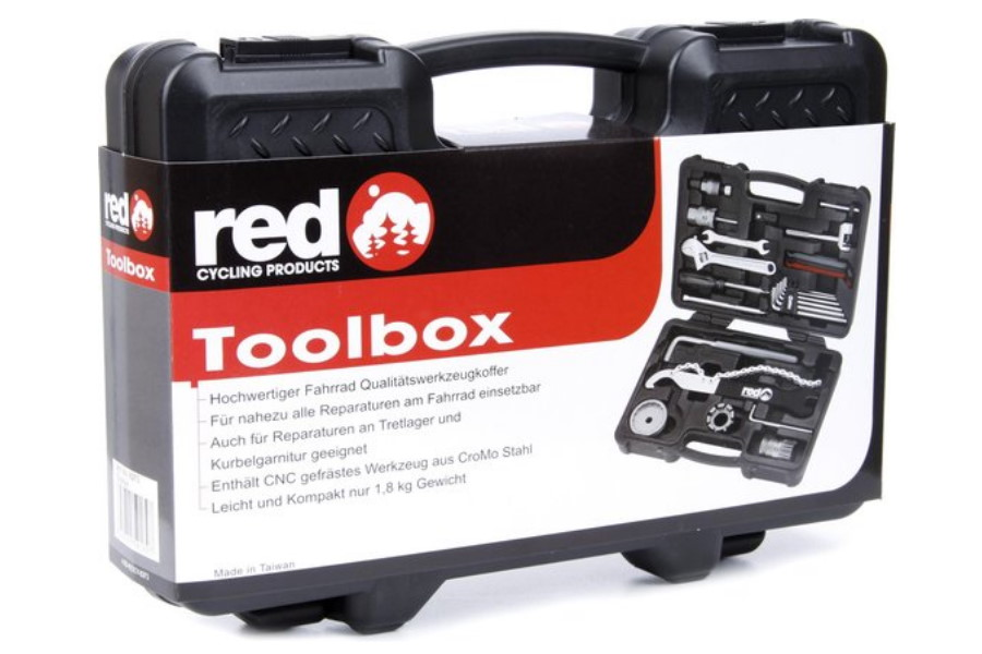 Red cycling toolbox