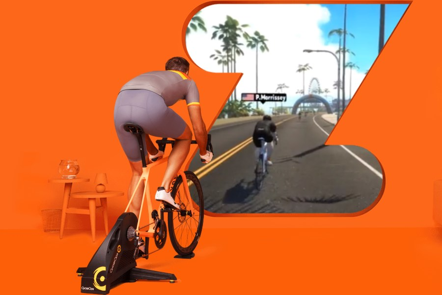 Virtuele Interactieve Trainer van Tacx, Zwift, Wahoo. Hoe cool is dat?